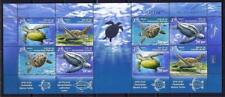 ISRAEL 2016 TURTLES IN THE MARINE ENVIRONMENT STAMPS SHEET FAUNA SEA MNH