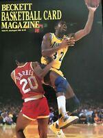 BECKETT BASKETBALL CARD MAGAZINE ISSUE #3 JULY/AUG 1990 MAGIC JOHNSON