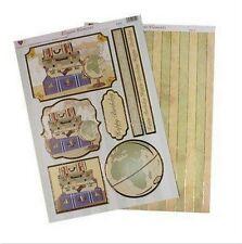 Élégante élément découpage valises Toppers & support pour cartes & crafts