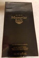 Avon Mesmerize Black Cologne Spray for Men Full Size 3.4 Fl Oz 206-775