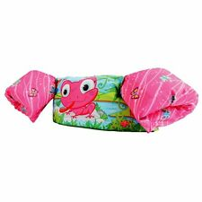 Stearns Pink Frog Deluxe Puddle Jumper CGA Life Jacket for 30-50 lbs
