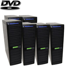60 Burner - Daisy Chain Duplicator - CD DVD Dual Layer Replication Tower + HDD