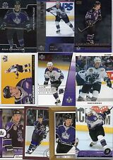 10-adam deadmarsh los angeles kings card lot nice mix