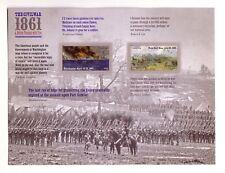 USA MNH CIVIL WAR SERIES STAMP PANES 12 STAMPS  S-1906