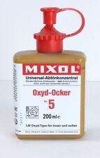 Mixol #5 Oxide Yellow Universal Tint 200ml Bottle