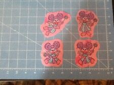 Sesame Street Fabric Iron On Appliqués - style # 10 Abby Caddabby