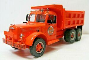 Campanella & Cardi LJ Mack T/A Dump Truck Custom Build 1/48 Scale