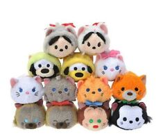 Disney TSUM TSUM Plush Toy Cat Series Set of 13 Disney Store Japan