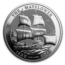 British Virgin Islands 1 Dollar Argent 1 Once 400 ans Mayflower 2020
