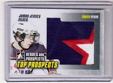 COREY PERRY 09/10 ITG Silver Jumbo Jersey Top Prospects 'STAR' Patch Hockey Card