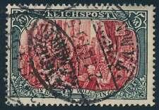 D.Reich Nr. 66 II gestempelt, 5 Mark Germania Reichspost (68545)