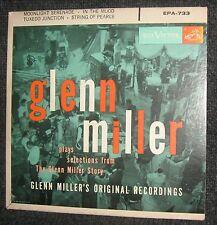 "Glenn Miller ""Plays Selections From The Glenn Miller Story"" RCA Victor 7"" EP EX-"