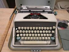 Olympia SM7  De Luxe Manual Typewriter with Case Made In West Germany
