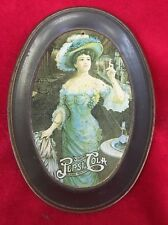 Vintage Pepsi Cola  Tip Tray Lady Blue  Drink Delicious Healthful 5 Cents