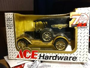"ERTL Vintage Chevrolet Delivery Van ""Ace Hardware"" Bank NIB! 1994 #0624 70th Ann"
