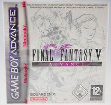 Final Fantasy V Advance - Nintendo Game Boy Advance GBA NEU SEALED red strip