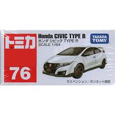 Takara Tomica Tomy #76 Honda Civic TYPE R 1/64 Diecast Toy Car JAPAN FS
