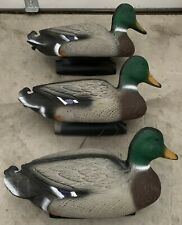 Lot Of 3 - Flambeau 16� Duck Decoy -Bird Hunting Decoy - Pre Owned Slightly Used