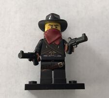 Genuine Lego 8827 Minifigure Series 6 no.5 Bandit (L46)