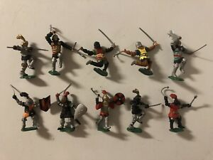 Timpo Toyway Heroic Battle Masters Medieval Knights In 54mm Scale