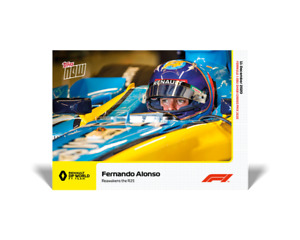Topps Now Formula 1 2020 Fernando Alonso (Renault F1 Team) #25 F1