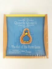 New Quack Quack The Call Of The Farm Wooden Game By Blue Orange 2 to 4 Players