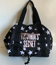 NEW! VICTORIA'S SECRET VS CELESTIAL SHIMMER PACKABLE WEEKENDER TOTE BAG $58 SALE