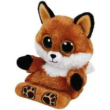 Ty Peek-A-Boos Sly The Fox Plush ~ Holds Your Phone + Clean Your Screen