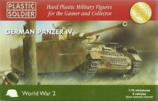 Plastic Soldier 1/72 Pz Kpfw IV (3 Fast Assembly Tanks)