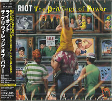 RIOT-THE PRIVILEGE OF POWER-JAPAN CD D99