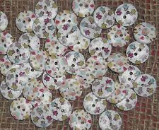 Wooden Sewing, Needlework Cardmaking & Scrapbooking Buttons