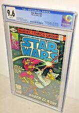 Star Wars #33, CGC 9.6, White Pages