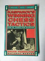 KASPAROV'S WINNING CHESS TACTICS Bruce Pandolfini Illustrated Free Shipping!