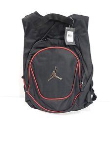 Jordan Nike Air Jumpman Backpack Book Bag-Black/Red 9A1118-391 NEW WITH TAGS