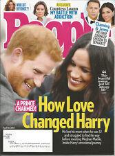 People Magazine (April 16, 2018) PRINCE HARRY & MEGHAN MARKLE~~~COUNTESS LUANN