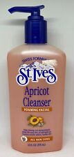 St.Ives Foaming Facial Apricot Cleanser - 10 oz - RARE