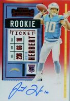 Nfl Football Card HOT PACKS- 1 Hit 16 Cards per Pack! Look For Herbert Auto!