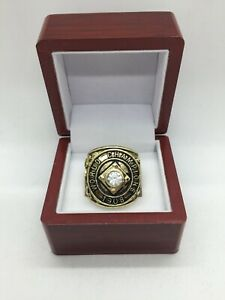 1908 Chicago Cubs World Series Championship Ring with Wooden Display Box