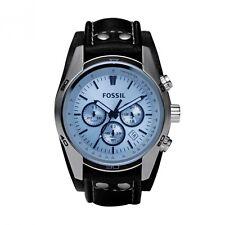 Fossil Uhr CH2564 Herrenuhr Sport Gents Chrono blaues Zifferblatt