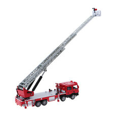 1:50 Alloy Diecast Fire Engine Ladder Vehicle Model Kids Birthday Toy Gift
