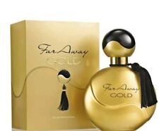 3 x AVON FAR AWAY GOLD edp Limited Edition 50 ML Nuovo & Sealed