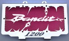 cache / Grille de radiateur 1200 GSF Bandit 1996>2000 Hold up + grilllage rouge