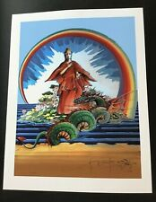 SIGNED By STANLEY MOUSE- QUAN YIN GICLEE FINE ART PRINT 17 x 22 TEST PRINT