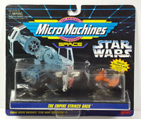 The Empire Strikes Back Galoob Micro Machines Star Wars On Card Rare Vintage