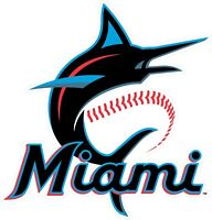 "Miami Florida Marlins MLB Logo Vinyl Decal - You Choose Size 2""-28"""