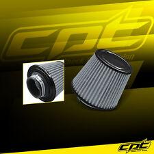 "3"" Stainless Steel Cold Air Short Ram Cone Intake Filter Black Mustang Flex"