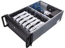 Rosewill RSV-L4000B - 4U Rackmount Server Case / Chassis for Bitcoin Mining Mach