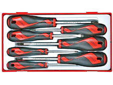 Teng Tools Sale Screwdriver Set 7 Pce With Slotted Flat Phillips Pozi Tool Tray