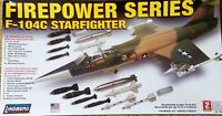 Lindberg #72522 F-104C Starfighter - Firepower Series 1/48 scale new in the box