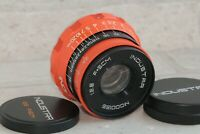 Industar 2.8/50mm Lens M39 RF Russian I-26M Leica Zorki FED color